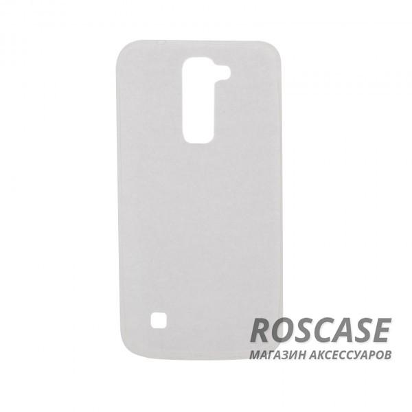 TPU чехол Ultrathin Series 0,33mm для LG K7 X210 (Бесцветный (прозрачный))Описание:бренд:&amp;nbsp;Epik;совместим с LG K7 X210;материал: термополиуретан;тип: накладка.&amp;nbsp;Особенности:ультратонкий дизайн - 0,33 мм;прозрачный;эластичный и гибкий;надежно фиксируется;все функциональные вырезы в наличии.<br><br>Тип: Чехол<br>Бренд: Epik<br>Материал: TPU