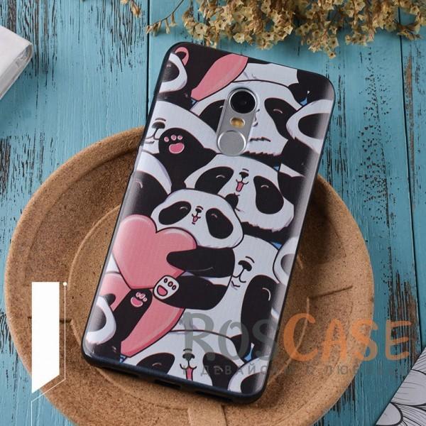 TPU чехол Sweet Art для Xiaomi Redmi Note 4 (Панда)<br><br>Тип: Чехол<br>Бренд: Epik<br>Материал: TPU
