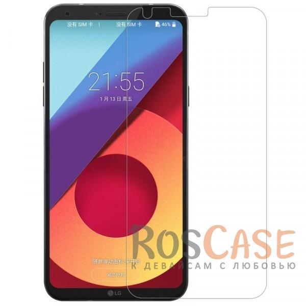 Антибликовое защитное стекло с олеофобным покрытием анти-отпечатки для LG Q6 / Q6a / Q6 Prime M700 (Прозрачное)Описание:бренд&amp;nbsp;Nillkin;совместимо с LG Q6 / Q6a / Q6 Prime M700;материал: закаленное стекло;прочное;ультратонкое - 0,33 мм;защищает от царапин и ударов;разработано с учетом особенностей экрана гаджета;размеры стекла -&amp;nbsp;138.5*65.3 мм.<br><br>Тип: Защитное стекло<br>Бренд: Nillkin