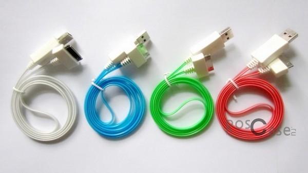 Дата кабель (светящийся) Navsailor (C-L02) для Apple iPhone 4/4SОписание:производитель&amp;nbsp; - &amp;nbsp;Navsailor;выполнен из ПВХ;тип&amp;nbsp; - &amp;nbsp;дата кабель;совместимость: Apple iPhone 4/4S.Особенности:светится;длина&amp;nbsp;кабеля - 1 м;разъемы&amp;nbsp; - &amp;nbsp;30 pin, USBвысокая скорость передачи данных;совмещает три в одном: синхронизация данных, передача данных, зарядка.<br><br>Тип: USB кабель/адаптер<br>Бренд: Navsailor