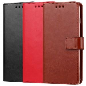 Plain |  кожаный чехол-книжка (5.8-6.3") для Huawei Honor V10