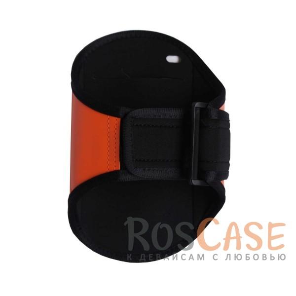 """Спортивный чехол на руку """"Sports Armband"""" для телефона 4.8-5.8 дюйма (Оранжевый)"""