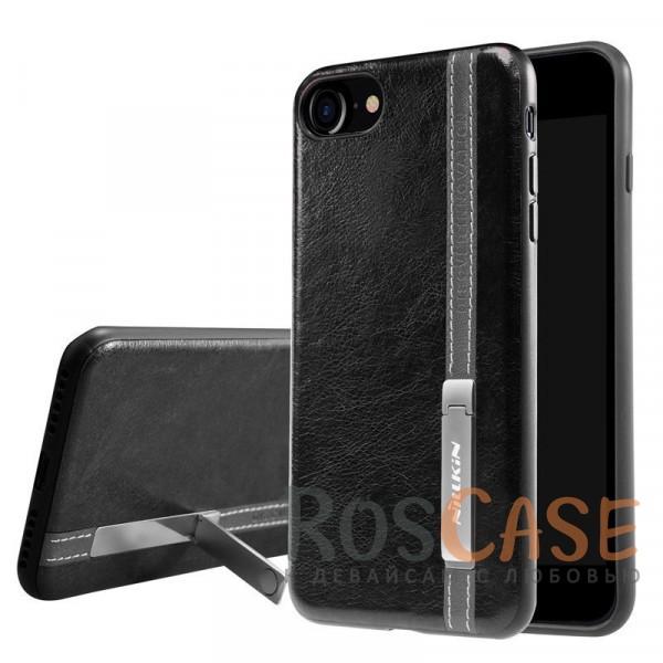 Кожаная накладка Nillkin Phenom Series с подставкой для Apple iPhone 7 (4.7) (Черный)<br><br>Тип: Чехол<br>Бренд: Nillkin<br>Материал: Искусственная кожа