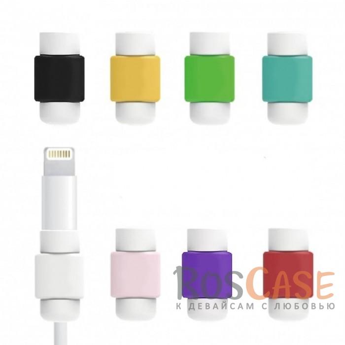 Цветной протектор с защитой от перелома для кабеляОписание:тип - протектор для кабеля;материал - пластик;защита от переломов;компактные размеры;состоит из двух частей.<br><br>Тип: Общие аксессуары<br>Бренд: Epik