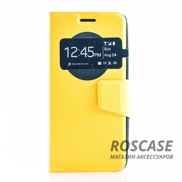 Чехол (книжка) с TPU креплением для Asus Zenfone 5 (A501CG) (Желтый)Описание:разработан компанией&amp;nbsp;Epik;спроектирован для Asus Zenfone 5 (A501CG);материал: синтетическая кожа;тип: чехол-книжка.&amp;nbsp;Особенности:имеются все функциональные вырезы;магнитная застежка закрывает обложку;защита от ударов и падений;в обложке есть окошко;превращается в подставку.<br><br>Тип: Чехол<br>Бренд: Epik<br>Материал: Искусственная кожа