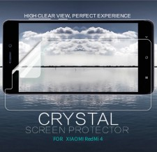 Nillkin Crystal | Прозрачная защитная пленка для Xiaomi Redmi 4 / Redmi 4 Pro / Redmi 4 Prime