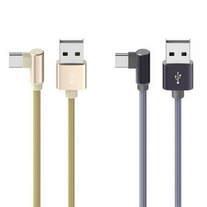 Borofone BX26 | Кабель Г образный USB Type-C 3A 1 метр