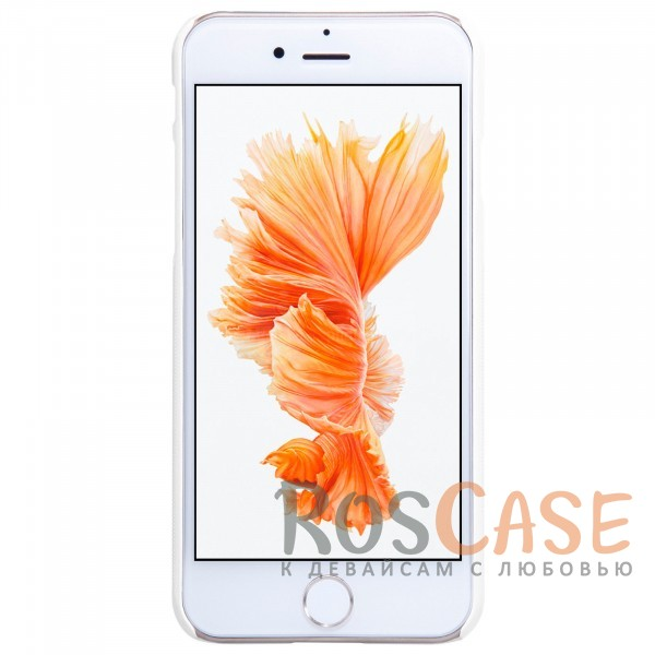 "Изображение Белый Nillkin Super Frosted Shield | Матовый чехол для Apple iPhone 7 (4.7"") (+ пленка)"
