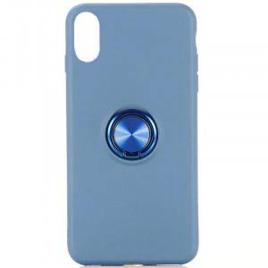 TPU чехол Summer ColorRing под магнитный держатель для Samsung Galaxy A10 / M10