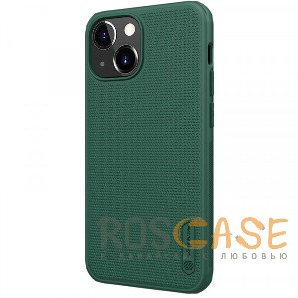Фотография Зеленый Nillkin Super Frosted Shield Pro | Матовый пластиковый чехол для iPhone 13 Mini