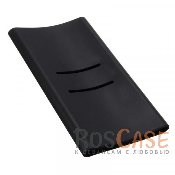 Силиконовый чехол для Портативного зарядного устройства Xiaomi Mi Power Bank 5000mAh (Черный)