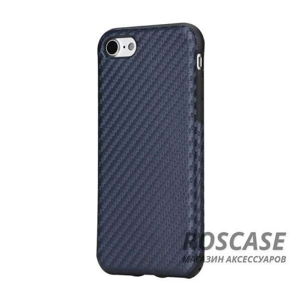 Пластиковая накладка Rock Origin Series (Texured) для Apple iPhone 7 plus (5.5) (Синий / Blue)Описание:производство бренда&amp;nbsp;Nillkin;разработана для Apple iPhone 7 plus (5.5);материал: термополиуретан, поликарбонат, карбоновое покрытие;тип: накладка.&amp;nbsp;Особенности:все функциональные вырезы имеются;прочный и износостойкий;не ухудшает качество сигнала;на нем не заметны отпечатки пальцев;не деформируется.<br><br>Тип: Чехол<br>Бренд: ROCK<br>Материал: Пластик