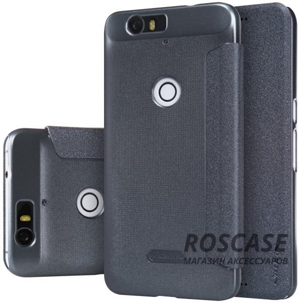 Кожаный чехол (книжка) Nillkin Sparkle Series для Huawei Nexus 6P (Черный)Описание:бренд&amp;nbsp;Nillkin;изготовлен специально для Huawei Nexus 6P;материал: искусственная кожа, поликарбонат;тип: чехол-книжка.Особенности:не скользит в руках;защита от механических повреждений;не выгорает;блестящая поверхность;надежная фиксация.<br><br>Тип: Чехол<br>Бренд: Nillkin<br>Материал: Искусственная кожа