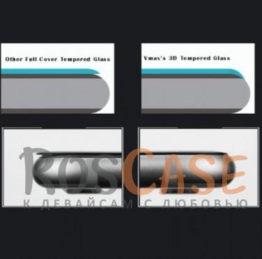 "Фотография Vmax CP+ | Стекло 3D для  Apple iPhone 7 plus / 8 plus (5.5"") на весь экран"