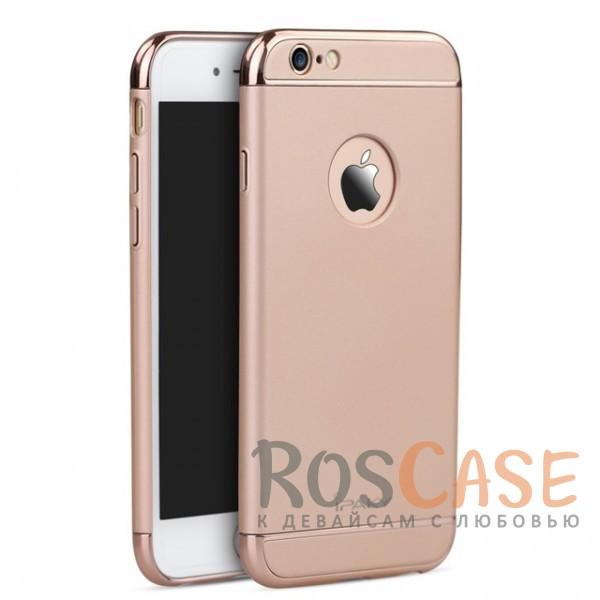 Изящный чехол iPaky (original) Joint с глянцевой вставкой цвета металлик для Apple iPhone 6/6s (4.7) (Rose Gold)Описание:производитель: iPaky;совместимость: смартфон Apple iPhone 6/6s (4.7);материал: пластик;форм-фактор: накладка.Особенности:узнаваемый и стильный дизайн;надежная система фиксации;прочный и износостойкий;не деформируется;не скользит в руках и на поверхности.<br><br>Тип: Чехол<br>Бренд: iPaky<br>Материал: Пластик