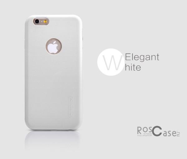 Чехол накладка Nillkin Victoria Series для Apple iPhone 6/6s plus (5.5) (Белый)Описание:производитель  -  фирма&amp;nbsp;Nillkin;разработан специально для Apple iPhone 6/6s plus (5.5);материал  -  искусственная кожа;тип  -  накладка.&amp;nbsp;Особенности:мягкая на ощупь;все функциональные вырезы на своих местах;не остаются отпечатки пальцев;тонкий дизайн;защищает от царапин и падений;не скользит.<br><br>Тип: Чехол<br>Бренд: Nillkin<br>Материал: Искусственная кожа