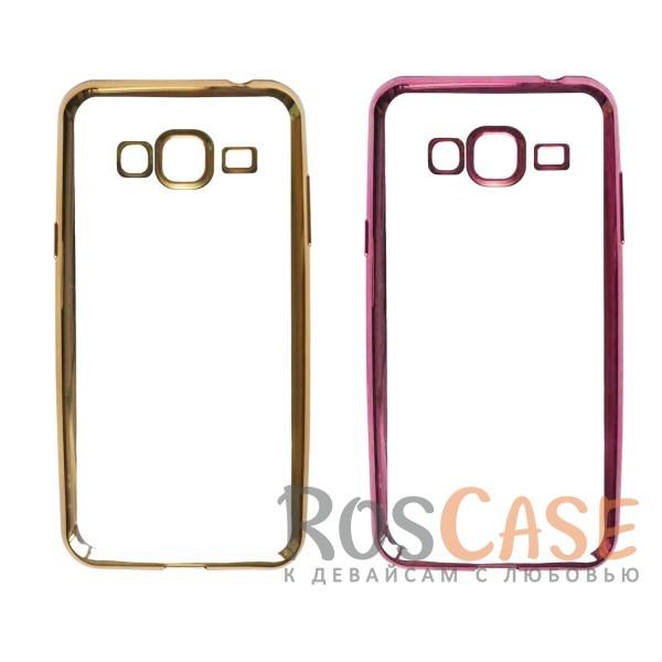 Прозрачный силиконовый чехол для Samsung J310 Galaxy J3 Pro с глянцевой окантовкойОписание:материал - силикон;совместим с Samsung J310 Galaxy J3 Pro;тип - накладка.Особенности:прозрачный;глянцевая окантовка;все вырезы предусмотрены;защищает от царапин и потертостей;тонкий дизайн;плотно облегает корпус.<br><br>Тип: Чехол<br>Бренд: Epik<br>Материал: TPU