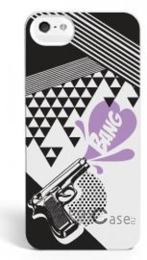 Накладка SleekOn Photochromic Series Ретро пистолет Retro Gun для Apple iPhone 5