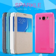 Nillkin Sparkle | Чехол-книжка с окошком для Samsung J710F Galaxy J7 (2016)