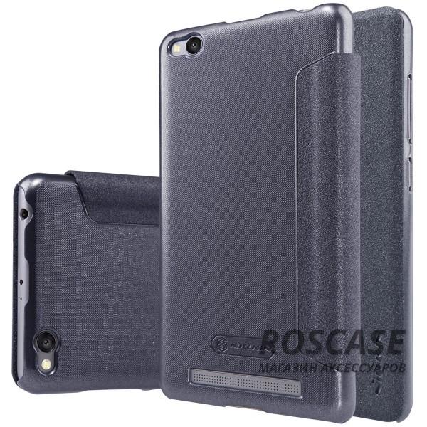 Кожаный чехол (книжка) Nillkin Sparkle Series для Xiaomi Redmi 3 (Черный)Описание:компания -&amp;nbsp;Nillkin;разработан для Xiaomi Redmi 3;материалы  -  синтетическая кожа, поликарбонат;форма  -  чехол-книжка.&amp;nbsp;Особенности:защищает со всех сторон;имеет все необходимые вырезы;легко чистится;не увеличивает габариты;защищает от ударов и царапин;морозоустойчивый.<br><br>Тип: Чехол<br>Бренд: Nillkin<br>Материал: Искусственная кожа