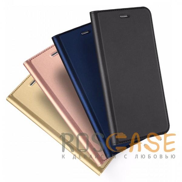 Фото Dux Ducis | Чехол-книжка для Huawei Honor 9 Lite с функцией подставки и картхолдером