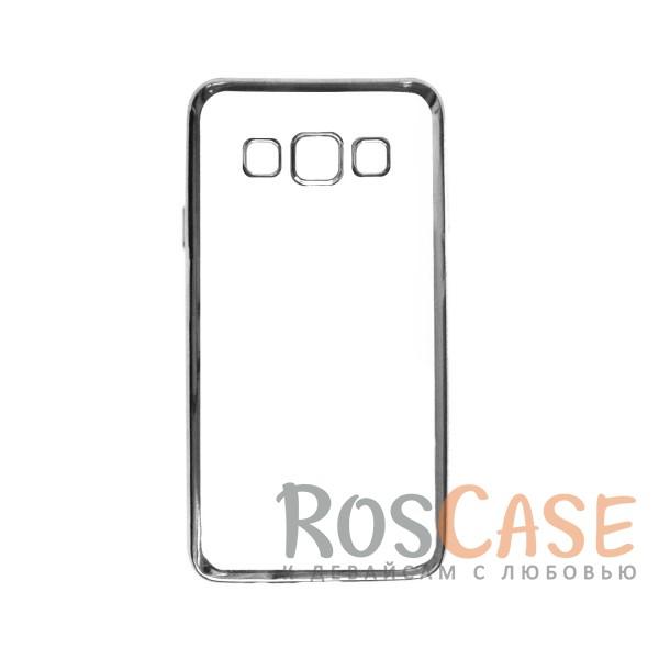 Прозрачный силиконовый чехол для Samsung A300H / A300F Galaxy A3 с глянцевой окантовкой (Серебряный)Описание:подходит для Samsung A300H / A300F Galaxy A3;материал - силикон;тип - накладка.Особенности:глянцевая окантовка;прозрачный центр;гибкий;все вырезы в наличии;не скользит в руках;ультратонкий.<br><br>Тип: Чехол<br>Бренд: Epik<br>Материал: Силикон