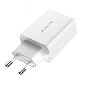 Borofone BA21A | Быстрая зарядка для телефона 1USB / 3A для Huawei Mate 20X