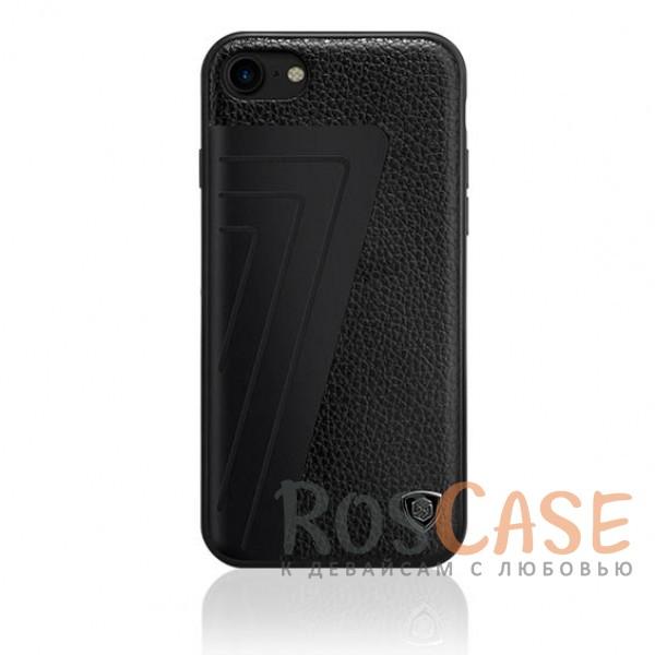 Кожаная накладка Nillkin Hybrid Series для Apple iPhone 7 (4.7) (Черный (Lychee))Описание:произведено брендом&amp;nbsp;Nillkin;совместимость - Apple iPhone 7 (4.7);материалы: поликарбонат, термополиуретан, металл, искусственная кожа;тип: накладка.&amp;nbsp;Особенности:оригинальный дизайн;вставка с фактурой крокодиловой кожи;двухцветный стиль;анти-отпечатки;не скользит в руках;защищает заднюю панель и боковые грани.<br><br>Тип: Чехол<br>Бренд: Nillkin<br>Материал: Искусственная кожа