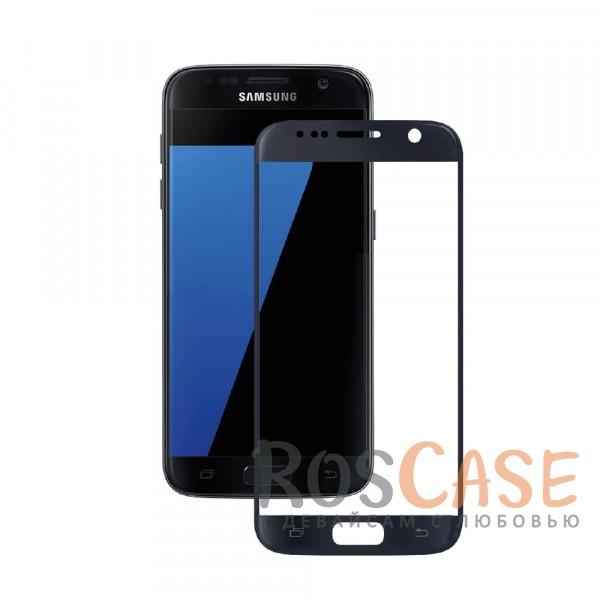 Защитное стекло 3D CaseGuru Tempered Glass для Samsung G930F Galaxy S7 (Черное)<br><br>Тип: Защитное стекло<br>Бренд: CaseGuru