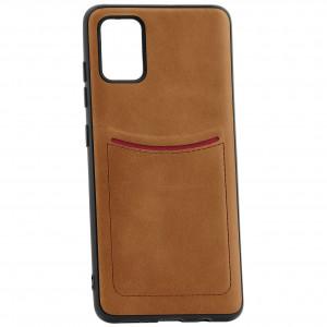 iLevel | Чехол с кожаным покрытием и карманом  для Samsung Galaxy A51