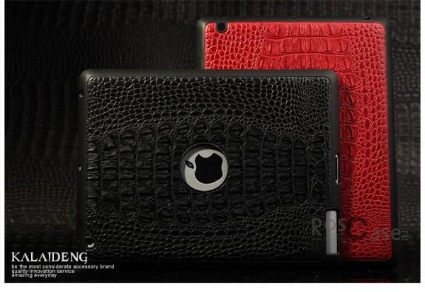 Фото кожаной накладки KLD Fashion Creative Series для Apple iPad 2 / 3 / 4