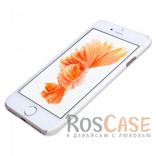 "Фотография Белый Nillkin Super Frosted Shield | Матовый чехол для Apple iPhone 7 (4.7"") (+ пленка)"