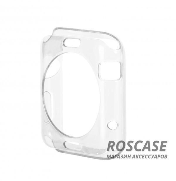 TPU чехол для Apple watch 38mm (Бесцветный (прозрачный))Описание:производитель - бренд&amp;nbsp;Epik;разработан для&amp;nbsp;Apple watch 38mm;материал: термополиуретан;тип: накладка.Особенности:тонкий дизайн;легкая фиксация;защита от царапин;эластичный;не деформируется.<br><br>Тип: Чехол<br>Бренд: Epik<br>Материал: TPU