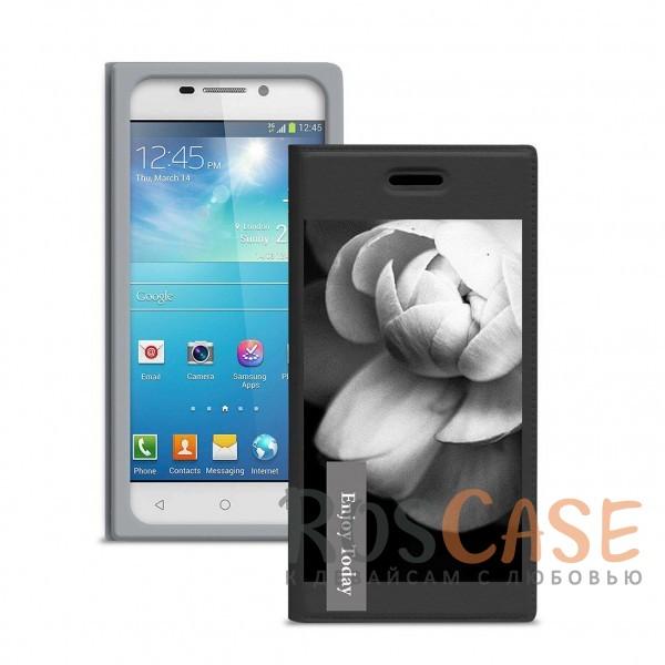 Универсальный женский чехол-книжка Gresso с принтом цветка Миранда Кувшинка для смартфона с диагональю 5,1-5,3 дюйма (Черный)Описание:совместимость -&amp;nbsp;смартфоны с диагональю&amp;nbsp;5,1-5,3 дюйма;материал - искусственная кожа;тип - чехол-книжка;предусмотрены все необходимые вырезы;защищает девайс со всех сторон;цветочный рисунок;ВНИМАНИЕ:&amp;nbsp;убедитесь, что ваша модель устройства находится в пределах максимального размера чехла.&amp;nbsp;Размеры чехла: 148*75 мм.<br><br>Тип: Чехол<br>Бренд: Gresso<br>Материал: Искусственная кожа