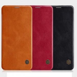 Nillkin Qin натур. кожа | Чехол-книжка для LG G7+ / LG G7 ThinQ
