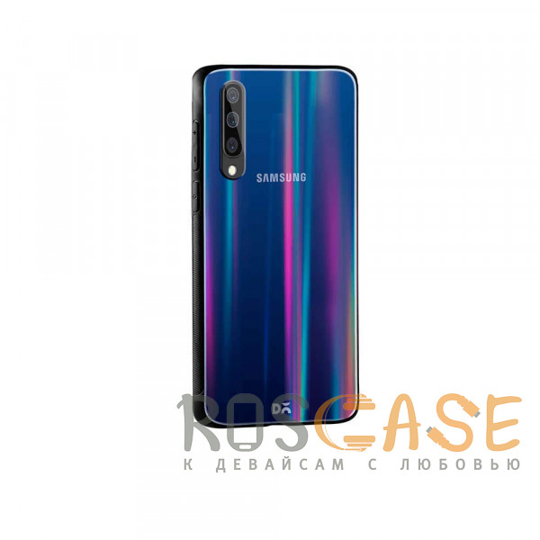 Фото Черный TPU+Glass чехол Gradient Aurora с лого для Samsung Galaxy A50 (A505F) / A50s / A30s