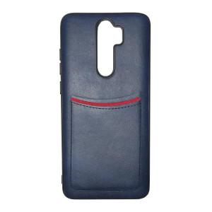 ILEVEL   Чехол с кожаным покрытием и карманом для Xiaomi Redmi Note 8 Pro