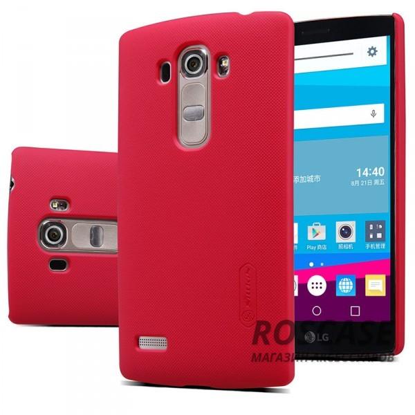Чехол Nillkin Matte для LG H734/H736 G4s Dual (+ пленка) (Красный)Описание:производитель -&amp;nbsp;Nillkin;материал - поликарбонат;совместим с LG H734/H736 G4s Dual;тип - накладка.&amp;nbsp;Особенности:матовый;прочный;тонкий дизайн;не скользит в руках;не выцветает;пленка в комплекте.<br><br>Тип: Чехол<br>Бренд: Nillkin<br>Материал: Поликарбонат