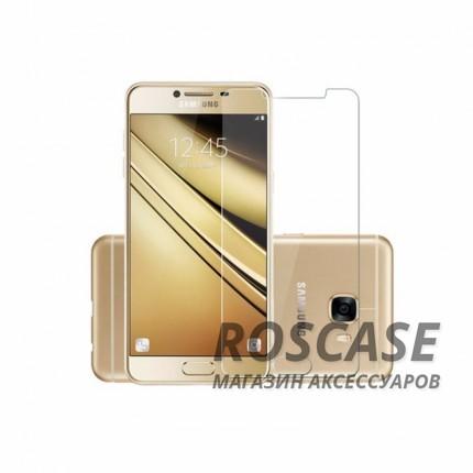 Защитное стекло Ultra Tempered Glass 0.33mm (H+) для Samsung Galaxy C5 (в упаковке)Описание:совместимо с устройством Samsung Galaxy C5;материал: закаленное стекло;тип: защитное стекло на экран.&amp;nbsp;Особенности:закругленные&amp;nbsp;грани стекла обеспечивают лучшую фиксацию на экране;стекло очень тонкое - 0,33 мм;отзыв сенсорных кнопок сохраняется;стекло не искажает картинку, так как абсолютно прозрачное;выдерживает удары и защищает от царапин;размеры и вырезы стекла соответствуют особенностям дисплея.<br><br>Тип: Защитное стекло<br>Бренд: Epik