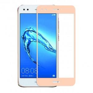 Artis 2.5D | Цветное защитное стекло на весь экран для Huawei Y6 Pro (2017) / Nova Lite (2017) на весь экран