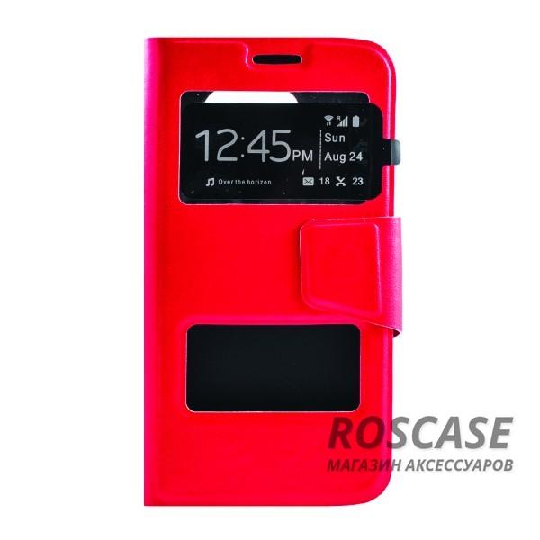 Чехол (книжка) с TPU креплением для Samsung G925F Galaxy S6 Edge (Красный)Описание:производитель - бренд&amp;nbsp;Epik;разработан для Samsung G925F Galaxy S6 Edge;материал: искусственная кожа;тип: чехол-книжка.&amp;nbsp;Особенности:имеются функциональные вырезы;магнитная застежка;защита от ударов и падений;окошко в обложке;ответ на вызов через обложку;не скользит в руках.<br><br>Тип: Чехол<br>Бренд: Epik<br>Материал: Искусственная кожа