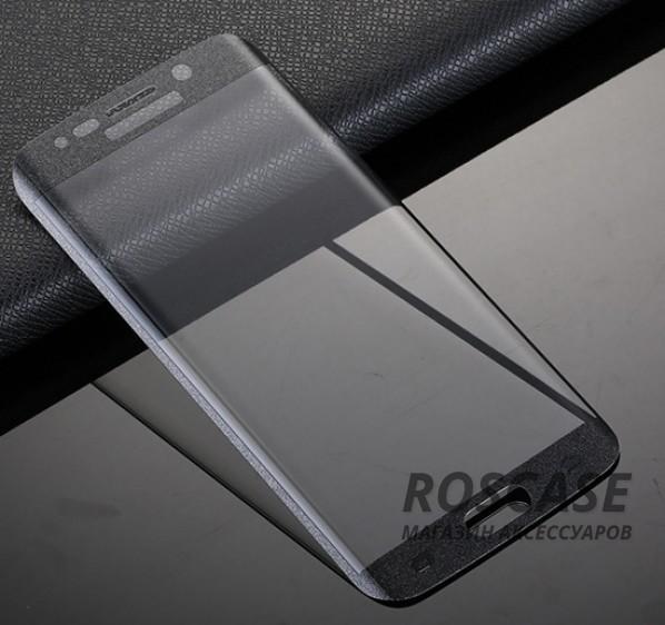 Противоударное закаленное стекло 0.2mm с защитой на весь экран Samsung G925F Galaxy S6 Edge (2.5D) (Черный)Описание:идеально подходит для Samsung G925F Galaxy S6 Edge;материал: закаленное стекло;тип: стекло на экран.&amp;nbsp;Особенности:закругленные грани 2.5D;ультратонкое  -  0,2 мм;прочность  -  9H;закрывает весь экран, в том числе боковые закругления;ударопрочное;олеофобное покрытие;цветная окантовка;защищает от царапин.<br><br>Тип: Защитное стекло<br>Бренд: Epik