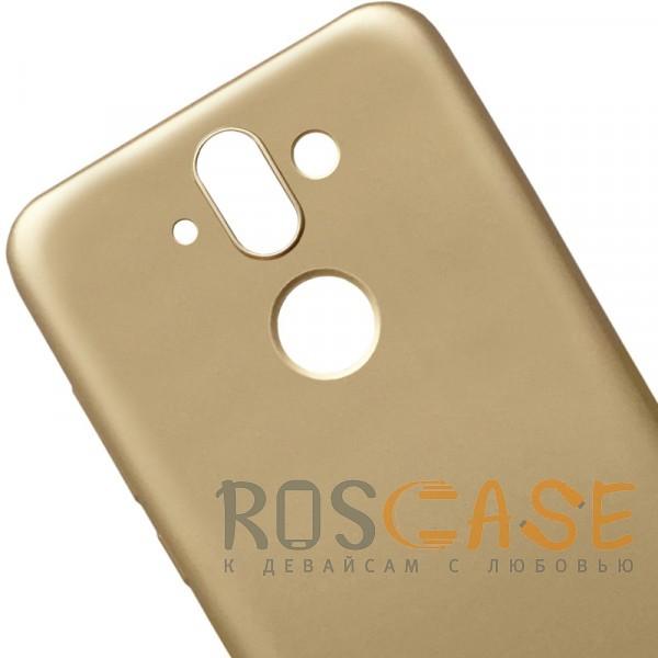 Изображение Золотой J-Case THIN | Гибкий силиконовый чехол для Nokia 8 Sirocco