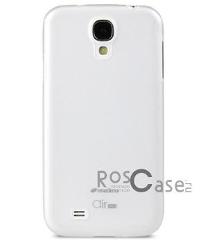TPU чехол Melkco Air 0,5 mm для Samsung i9500 Galaxy S4 (+ пленка) (Бесцветный (матовый))Описание:компания-производитель  -  Melkco;создан специально для Samsung i9500 Galaxy S4;материал  -  термопластичный полиуретан;чехол исполнен в виде накладки;наличие всех нужных функциональных вырезов.Особенности:приятная на ощупь поверхность, на которой не остаются отпечатки;надежная фиксация телефона;оригинальный дизайн;просто и легко очищается от загрязнений.<br><br>Тип: Чехол<br>Бренд: Melkco<br>Материал: TPU
