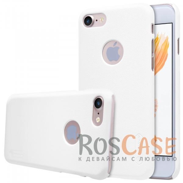 Чехол Nillkin Matte для Apple iPhone 7 (4.7) (+ пленка) (Белый)Описание:бренд&amp;nbsp;Nillkin;спроектирована для&amp;nbsp;Apple iPhone 7 (4.7);материал - поликарбонат;тип - накладка.Особенности:фактурная поверхность;защита от ударов и царапин;тонкий дизайн;наличие функциональных вырезов;пленка на экран в комплекте.<br><br>Тип: Чехол<br>Бренд: Nillkin<br>Материал: Поликарбонат
