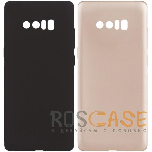 Фото J-Case THIN   Гибкий силиконовый чехол для Samsung Galaxy Note 8