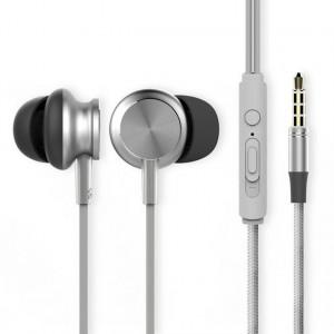 ROCK Y2 | Наушники с плетеным кабелем и пультом для Samsung Galaxy S6 Edge Plus (G928F)