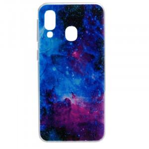 Силиконовый чехол с рисунком для Samsung Galaxy A40