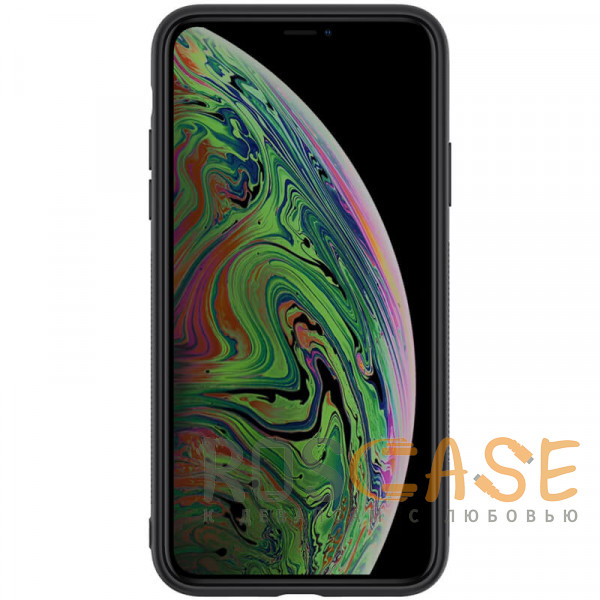 Фотография Черный Nillkin Synthetic Fiber | Чехол из синтетического волокна для iPhone 11 Pro