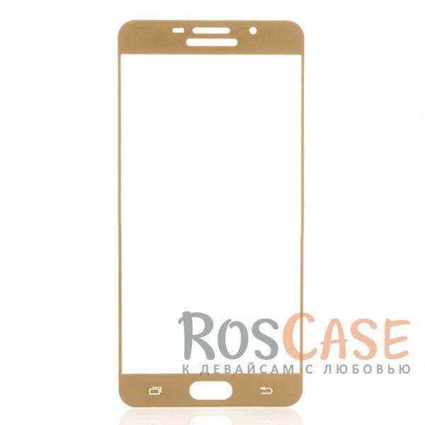 Защитное стекло CP+ на весь экран (цветное) для Samsung A710F Galaxy A7 (2016) (Золотой)Описание:компания&amp;nbsp;Epik;совместимо с Samsung A710F Galaxy A7 (2016);материал: закаленное стекло;тип: защитное стекло на экран.Особенности:полностью закрывает дисплей;толщина - 0,3 мм;цветная рамка;прочность 9H;покрытие анти-отпечатки;защита от ударов и царапин.<br><br>Тип: Защитное стекло<br>Бренд: Epik